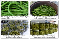 Fazolky v sladkokyselém nálevu | foto Green Beans, Vegetables, Blog, Veggies, Vegetable Recipes, Blogging