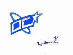 wk's dc comics logo design 1
