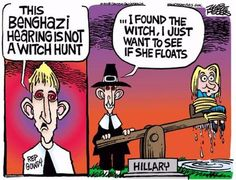 Of Hillary and Benghazi: Clinton's hearing in 8 eye-catching cartoons - The Washington Post