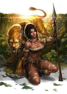 Nidalee League Of Legends Fan Art