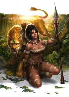 Nidalee League Of Legends Fan Art