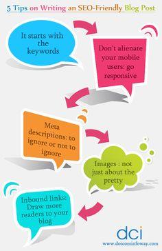 5 Tips on Writing an SEO-Friendly Blog Post