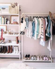 Questioning what good can DIY fitted wardrobes do to your private home? You can be shocked to search out that, they won't solely improve your closet-s. Diy Fitted Wardrobes, Diy Room Decor, Bedroom Decor, Home Decor, Bedroom Inspo, Diy For Room, Dressing Room Design, Dressing Rooms, Stylish Bedroom