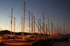 Boats of Fethiye - Turkey