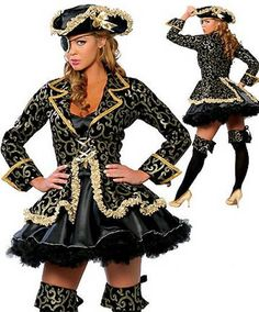 Halloween Costume... Now available on our store http://www.yabizy.com/products/halloween-costumes-for-women-pirate-costume-for-women-lolita-role-play-uniform-bar-carnival-cosplay ......Free shipping worldwide.