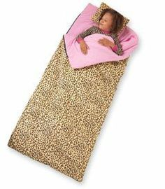 Leopard Print Sleeping Bag By Wildkin 8800 At The Next Sleepover Your