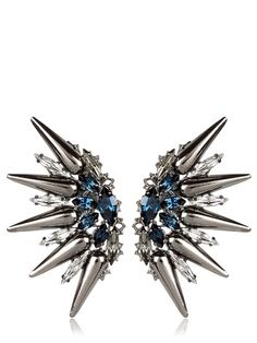ANTON HEUNIS - TSARINA COLLECTION EARRINGS - LUISAVIAROMA