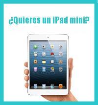 Sorteo iPad blog 15 mes