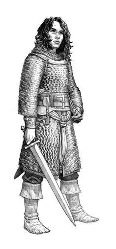 DRESSED TO KILL Fantasy Art Believable Armor