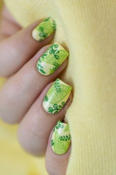Green leaves for Saint Patrick's Day! | Marine Loves Polish | Bloglovin'
