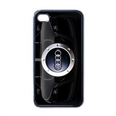New AUDI Car Logo Design Apple iPhone 4 4S Hard Shell Plastic Case Cover - My Store