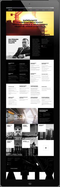 Atix capital development by Sergey Tarasenko, via Behance