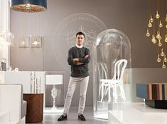 Only six years after starting his own label, Lee Broom has become one of the few product designers to launch a standalone store. Charlotte Abrahams meets the man whose rock-glam brand is on the cusp of international stardom. Portrait by Jude Edginton Lee Broom, Bentwood Chairs, Curiosity Shop, London Design Festival, Bistro Chairs, Bar Interior, Retail Space, Home Accessories, British