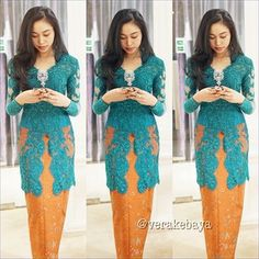 Kebaya Batik Authentic Indonesian Fashion - Collection Style 2014