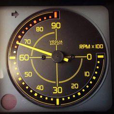 Lancia Delta Integrale Dashboard (RPM)