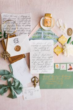 "From the editorial ""This Is Old World Romance Done Right at Bonnet House Museum & Gardens."" These stunning paper elements created by Pretty Written Things have left us speechless to say the least. Head to SMP for more details! Photography: @mandaweaver #oldworldromance #prettypaper #invitationsuite #weddingcard #weddinginvite #weddinginvitations Wedding Stationery Inspiration, Beautiful Wedding Invitations, Vintage Wedding Invitations, Printable Wedding Invitations, Wedding Invitation Design, Wedding Stationary, Wedding Inspiration, Invitation Cards, Vintage Stationary"