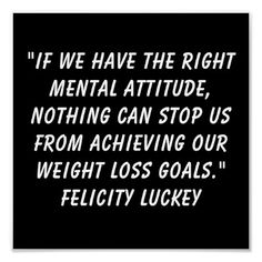 Weight Loss Attitude 9 Poster from Zazzle.com