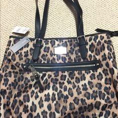 Cheetah bag. Never used!! Very roomy. Gorgeous bag if you love cheetah like I do!! Bags Shoulder Bags