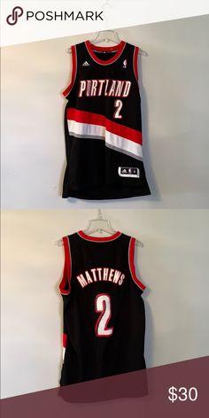 bc8633eee14 Portland Trail Blazers Wesley Matthews NBA Jersey Size medium, like new  adidas Shirts