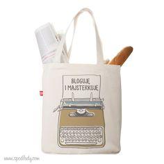 Personalizowana torba dla każdej Pani, która lubi się popisać. Reusable Tote Bags, Retro, Neo Traditional, Rustic, Retro Illustration, Mid Century