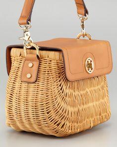 Rattan Basket Bag Black Tote Wicker Purse Straw Styles French Fashion Hamper Handbags