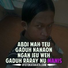 Foto Kata Kata Lucu Bahasa Sunda