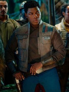 Star Wars Skywalker Finn Leather Vest - Ideas of Star Wars Outfits - The Star Wars Skywalker is latest trending upcoming series of star wars where John Boyega wore this leather vest. Finn Star Wars, Star Wars Art, Star Trek, Rey And Finn, Upcoming Series, Tv Shows Funny, John Boyega, Star Wars Outfits, Star Wars Wallpaper
