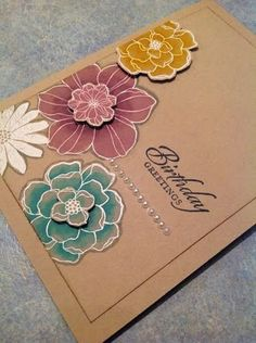 Stampin Up: Blendabilities Rock!