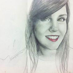 #autoretrato #retrato #portrait #drawing #desenho #grafite #dibujo #sketchbook #pencildrawing #selfdrawing