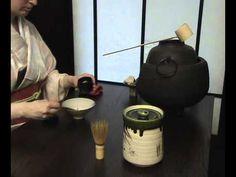 Cérémonie Chanoyu, cérémonie du thé - YouTube