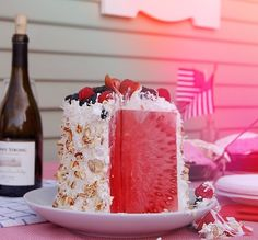 Danya Collyer: Watermelon Cake