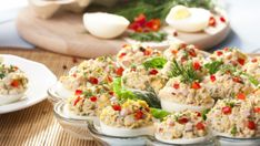 Delicious recipes for you to try with eggs, including breakfast, lunch and dinner recipes, seasonal recipes and holiday recipes Egg Recipes, Appetizer Recipes, Great Recipes, Salad Recipes, Dinner Recipes, Appetizers, Cooking Recipes, Healthy Recipes, Delicious Recipes