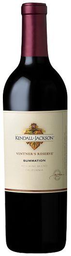 Kendall-Jackson Summation (Red Wine Blend) - 43% Zinfandel, 24% Syrah, 21% Merlot, 5% Grenache, 4% Petite Sirah, 3% Other varietals