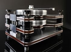 Beautiful Kronos Audio Turntable from Alexander Abramov via BleckConsulting