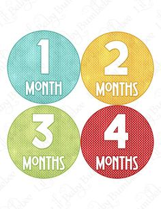 Cute idea for monthly pictures
