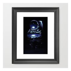 The Keeper Framed Art Print ($35) ❤ liked on Polyvore featuring home, home decor, wall art, framed art prints, framed wall art, black home decor, black framed wall art, home wall decor and black wall art