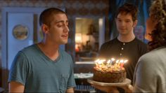 HAL SCREENCAPS | Being Human Series 4 Episode 4, 'A Spectre Calls' - Tom's birthday cake :)
