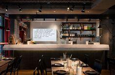 industrial restaurant design | Melbourne's new Claremont Tonic restaurant & bar by Maison Davis and ...