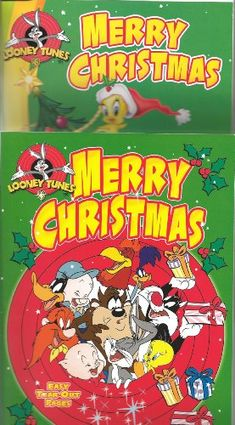 Looney Tunes Merry Christmas Coloring Activity Books Set Of 2 Niftywarehouse