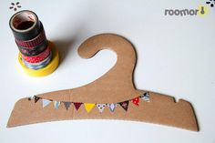 Cardboard Animal Clothes Hanger,