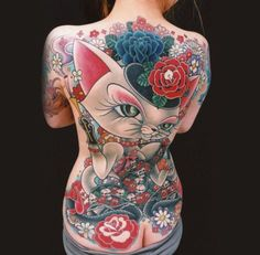 This is badass #tattoosbackside