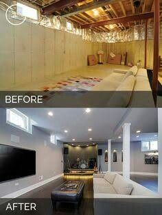 Best Of Basic Basement Remodel