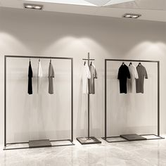 Cheap Clothing Store Displays Stand For Sale - Boutique Store Fixtures Manufacuring, Retail Shop Fitting Display Furniture Supply Showroom Design, Design Shop, Modegeschäft Design, Shop Interior Design, Rack Design, Interior Ideas, Print Design, Custom Design, Logo Design