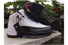 b7db0ebfd4d Cheap Jordan 12 OVO White Gold Air Jordan 12 OVO White Men NWYxp