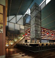 Shed 5 restaurante de Loop creativo Melbourne 04 Shed 5 restaurante junto lazo creativo, Melbourne