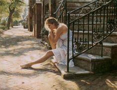 Watercolor Paintings by Steve Hanks  <3 !