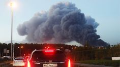 Großbrand in Moskau: Flammeninferno erfasst Einkaufszentrum
