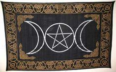 "Triple Goddess Tapestry 72"" x 108"""