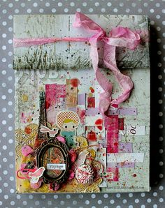 Paris post card box by Riikka Kovasin for Inspired by... challenge