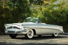 """The Packard Panther was a show car built in 1954 and featured a number of radical designs for the era. Known as a two-seat luxury car that came in a convertible model, the Packard Panther had Clipper taillights, a one-piece fiberglass body, and a removable hard top roof (on one model). Only four Panthers were built, of which two still survive. One of the surviving cars sold at auction in 2006 to an unknown buyer for $360,000. Also named """"Daytona,""""."""